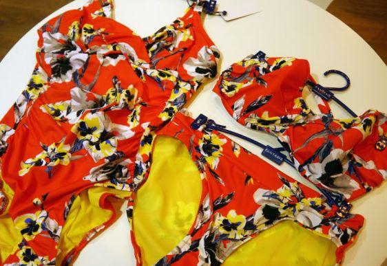 Fantasie Swim Cross Front Suit, Twist Bandeau Bikini and Brief (Fantasie Swim AW16)