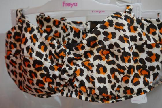Freya Swim Sabor Twist Front Bandeau Bikini Spice