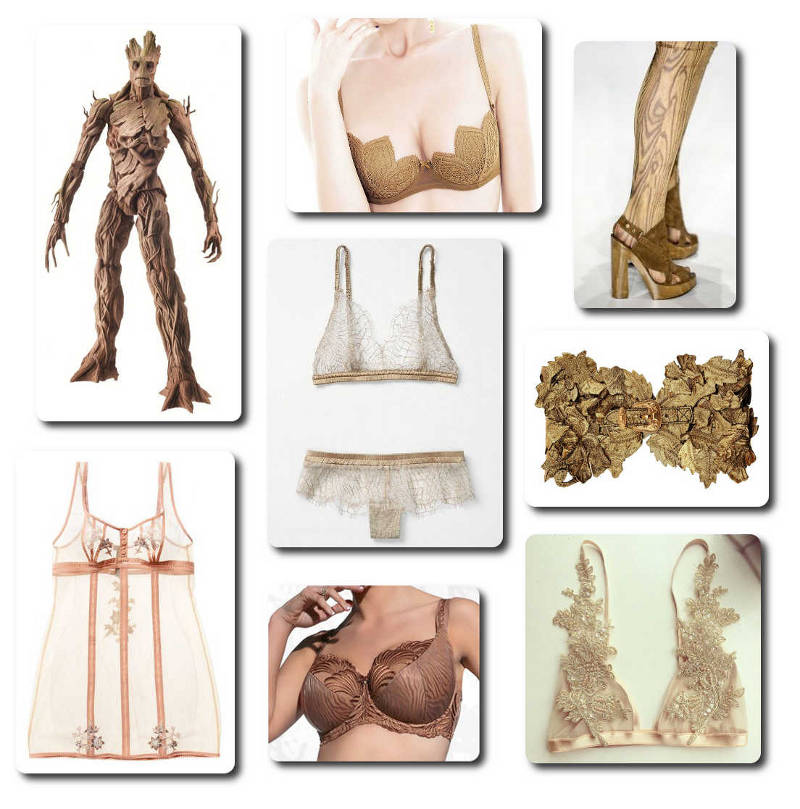 Guardians of the Galaxy - Groot Lingerie 3