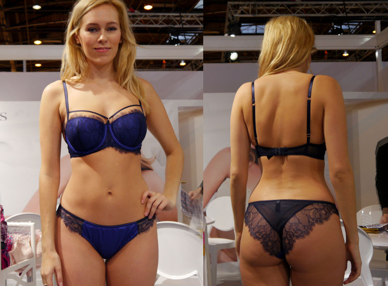 Lepel London Paloma Padded Balcony in Electric Blue Full (SS16)