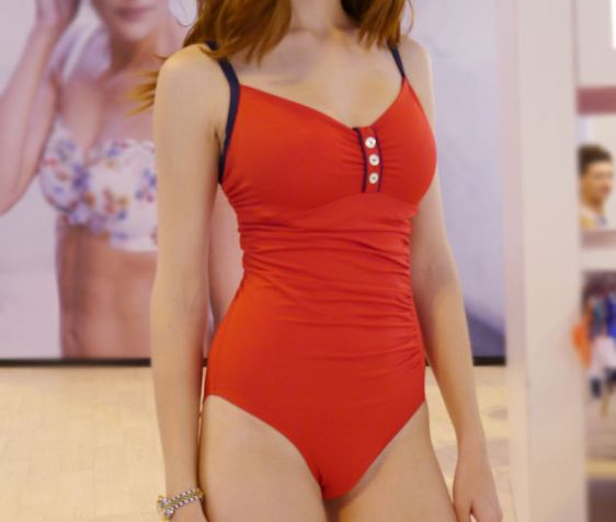 Panache SS15 Swim Veronica Red