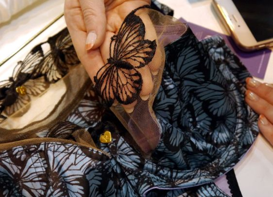 Rochella Tattoo Butterfly Bra Detailing (Rochella SS16)