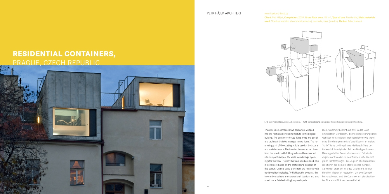 Masterpieces Roof Architecture Design Architektur Braun Publishing