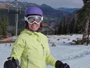 brave ski mom