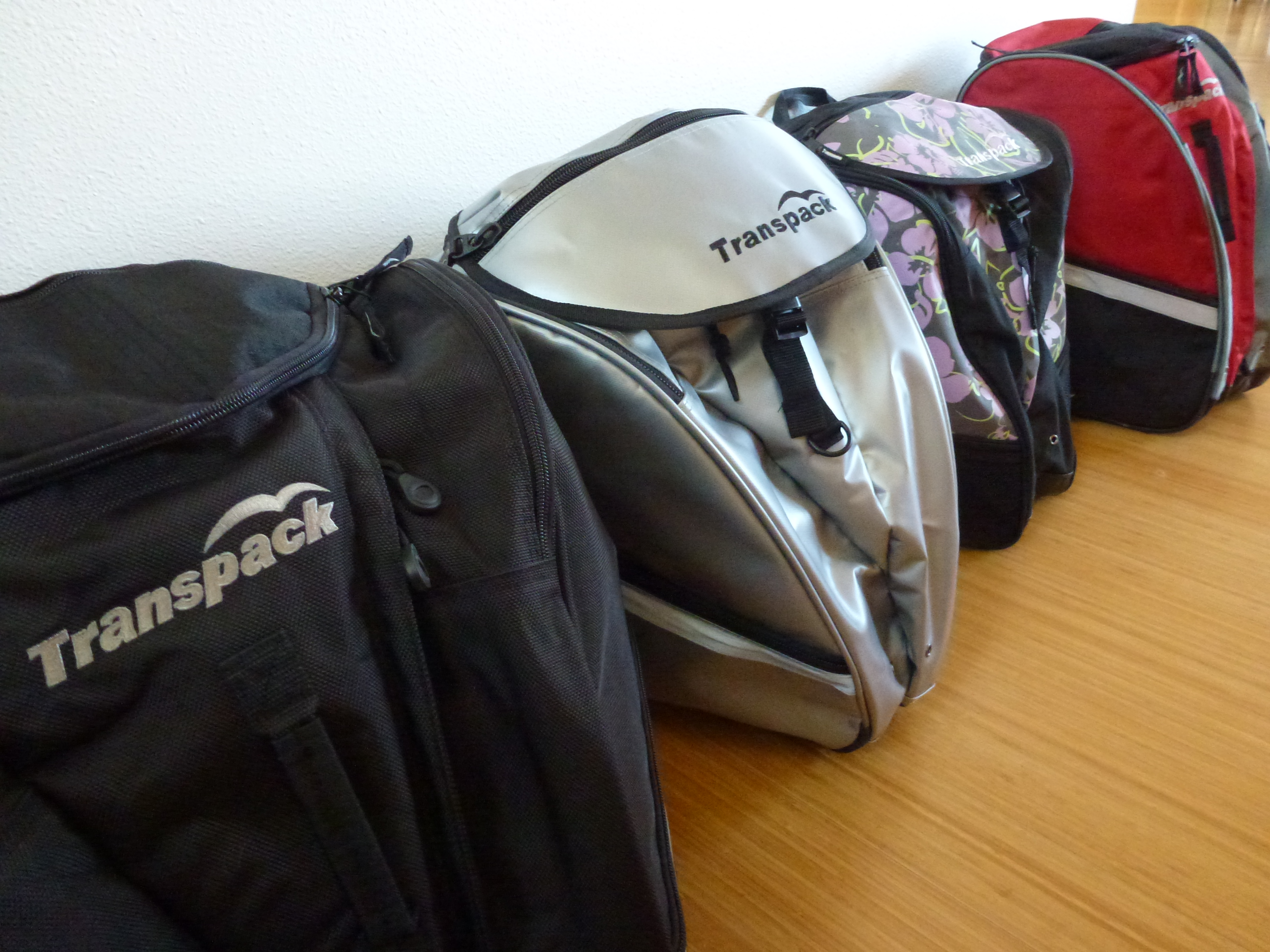 Everyone Carries Their Own Gear Transpack Bags The
