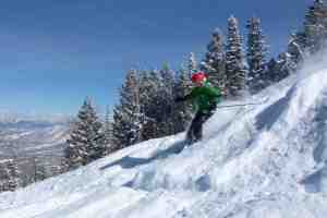 Powderhorn Mountain Resort is justly famous for powder.