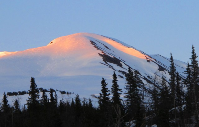 last light manitoba mountain alaska
