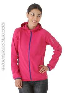 Salomon XA full zip Hoody Fancy Pink Winterwomen.com