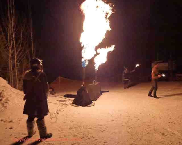 ullr nights fire show snowmass