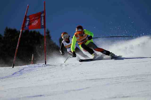 downhill ski racing rob and danelle umstead