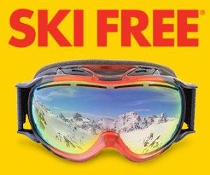 ski free banner