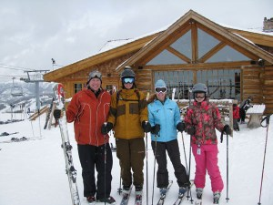 family ski trips yellowstone