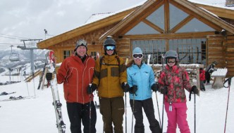family ski trips yellowstone