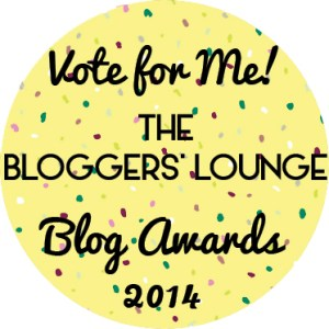 I'm a Finalist for Blogger of the Year! (Vote for Me, Please!)