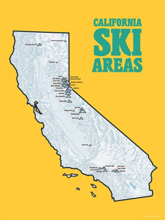 california ski areas best maps ever