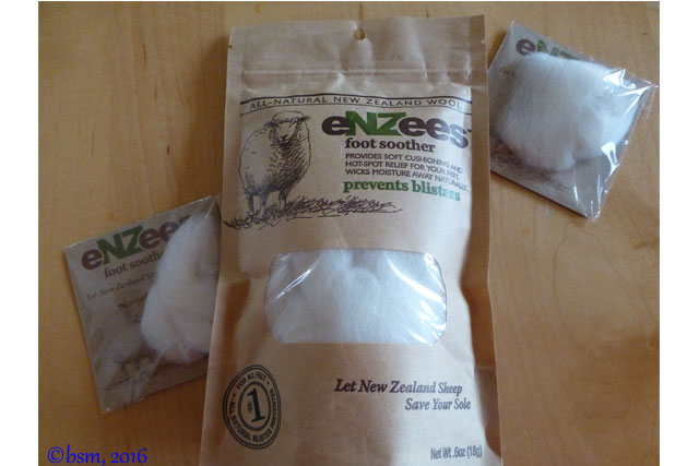 enzees wool for blisters