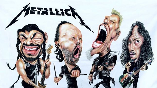 Animated New Year Wallpaper Metallica Wants To See Your Fan Art Bravewords Com