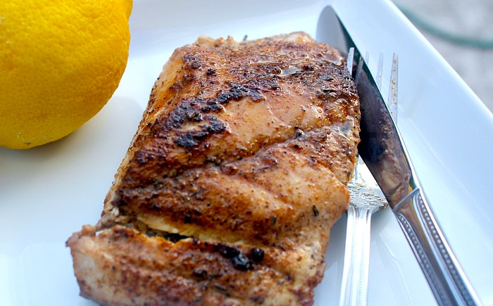 Cast iron black drum recipe bravo for paleo for How to cook red fish