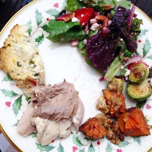 A delicious paleo Christmas meal