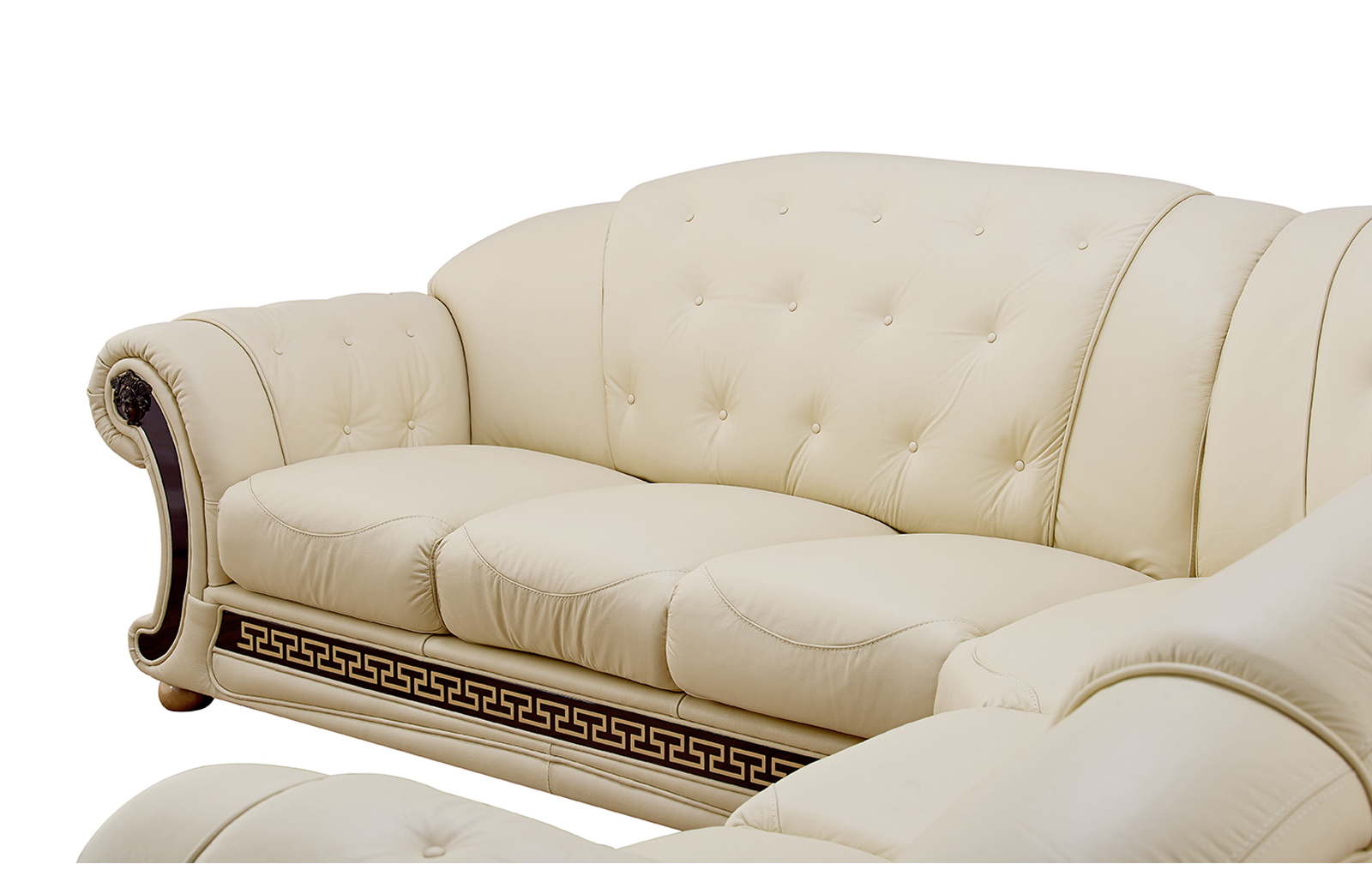 Living Room Furniture Ivory Sofa Apolo Sectional Ivory Sectionals Living Room Furniture