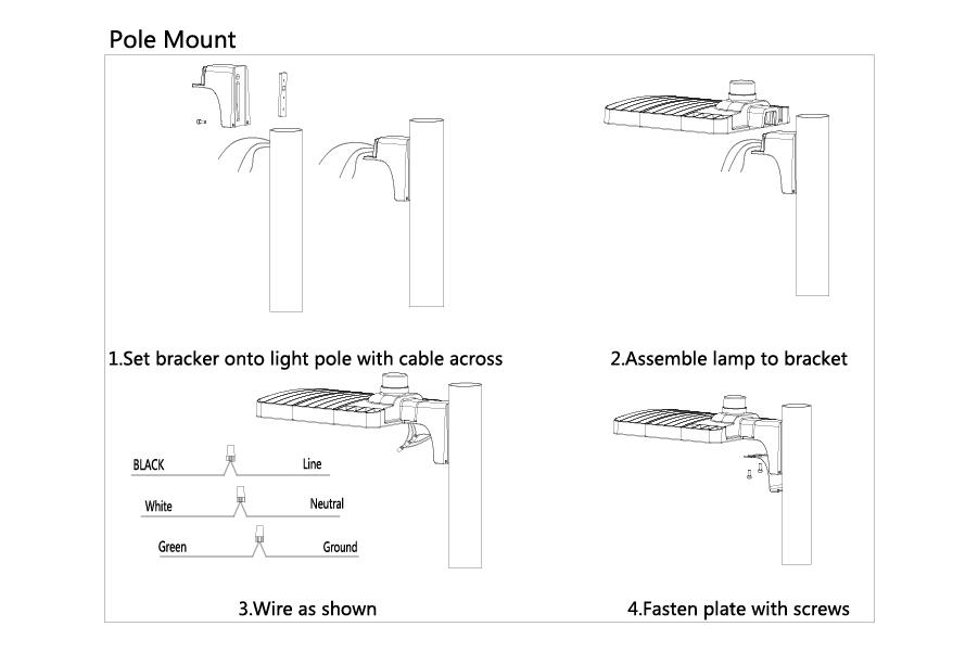 parking lot lighting wiring diagram