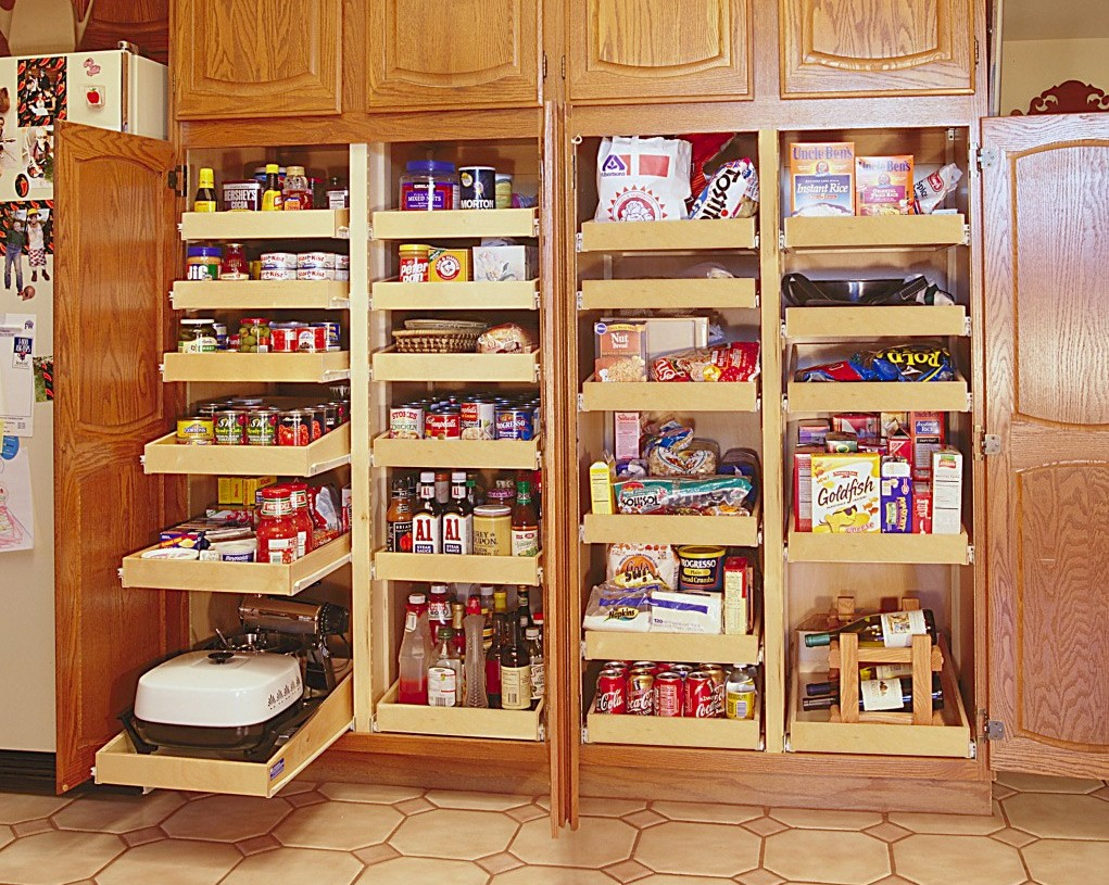 Kitchen Cabinets With Pull Out Shelves Pull Out Shelves Kitchen Pantry Cabinets Bravo Resurfacing