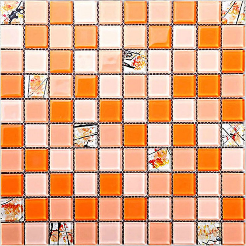 glass mosaic tile sheets crystal backsplash kitchen wall tile stickers fix vinyl peel stick decorative backsplash kitchen tile sticker