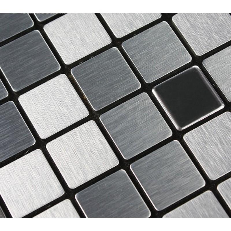 metal mosaic tile sheets grey metallic kitchen wall tiles kitchen silver metal mosaic stainless steel kitchen wall tile backsplash