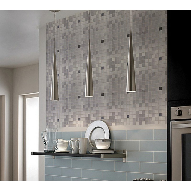 sheets grey metallic kitchen wall tiles kitchen backsplash stickers peel stick mosaic tiles kitchen bathroom backsplashes