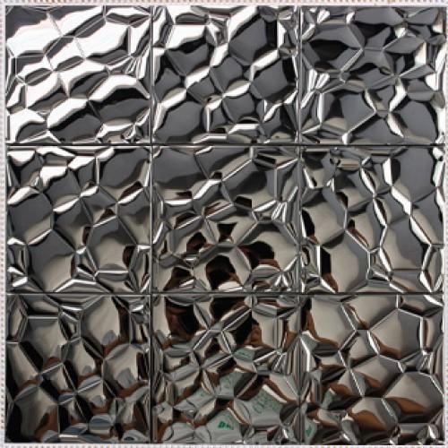 tile patterns kitchen backsplash wall brick tiles metal mirror wall silver metal mosaic stainless steel kitchen wall tile backsplash