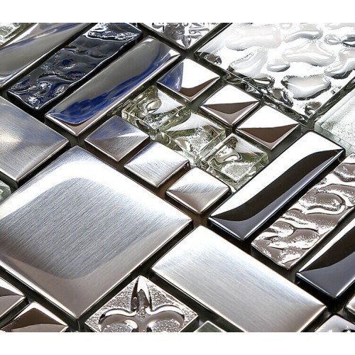 kitchen backsplash tiles plated glass mosaic metal stainless steel stainless steel kitchen backsplash ideas couchable