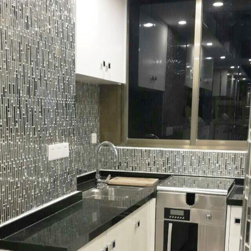 glass metal tile backsplash ideas bathroom stainless steel mosaic interior designs modern kitchen backsplash ideas metal tile options