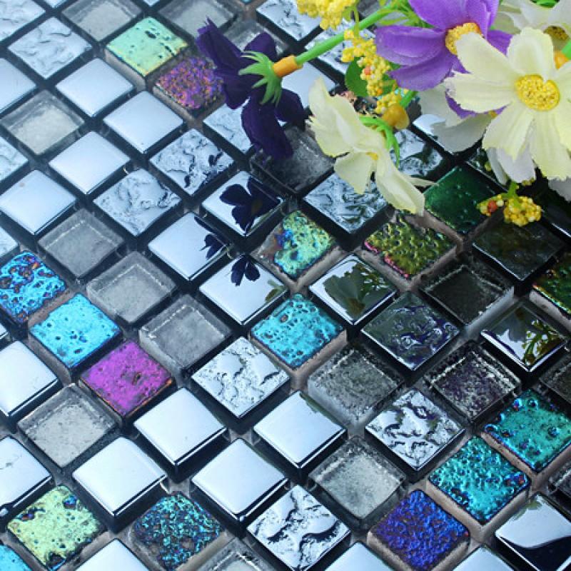 stone glass tile backsplash stained kitchen wall sticker plated mosaic backsplashes pictures ideas tips hgtv hgtv