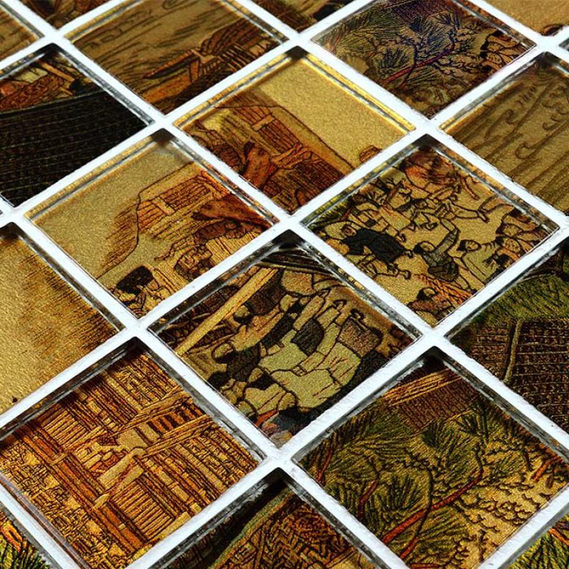 glass mosaic tile sheets crystal glass tile brick kitchen backsplash mosaic backsplashes pictures ideas tips hgtv hgtv
