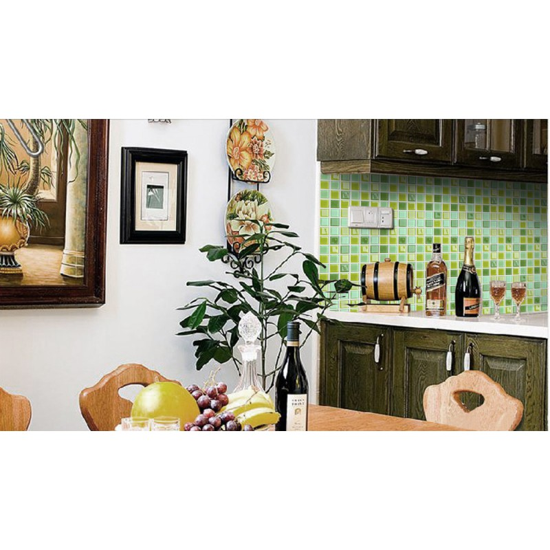 mosaic tile sheet wall stickers kitchen backsplash tile floor stickers peel stick mosaic tiles kitchen bathroom backsplashes
