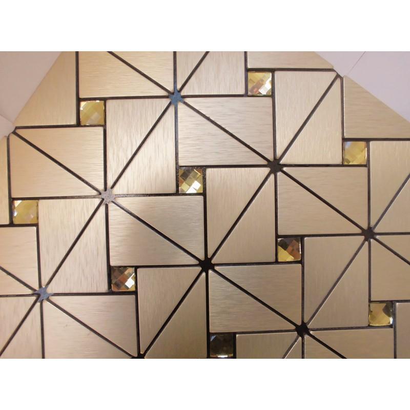 metal glass mosaic diamond brushed aluminum alucobond tile kitchen silver metal mosaic stainless steel kitchen wall tile backsplash