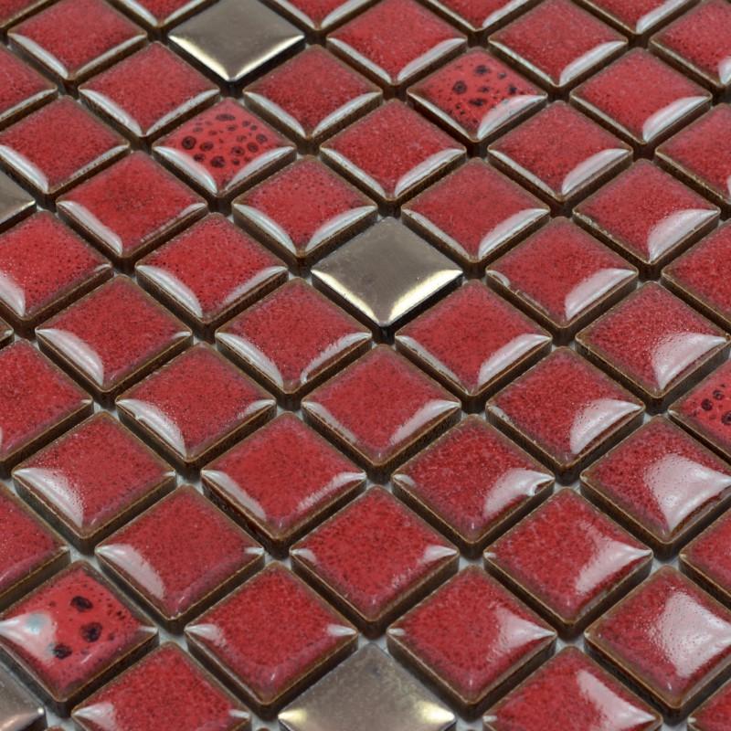 red tile kitchen backsplash glazed porcelain mosaic tile sheets square subway mosaic red glass kitchen backsplash tile traditional kitchen