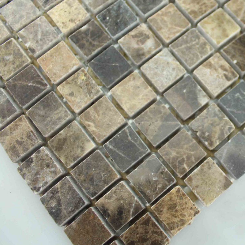 stone tiles mosaic tile deep emperador kitchen backsplash wall sticker peel stick mosaic tiles kitchen bathroom backsplashes