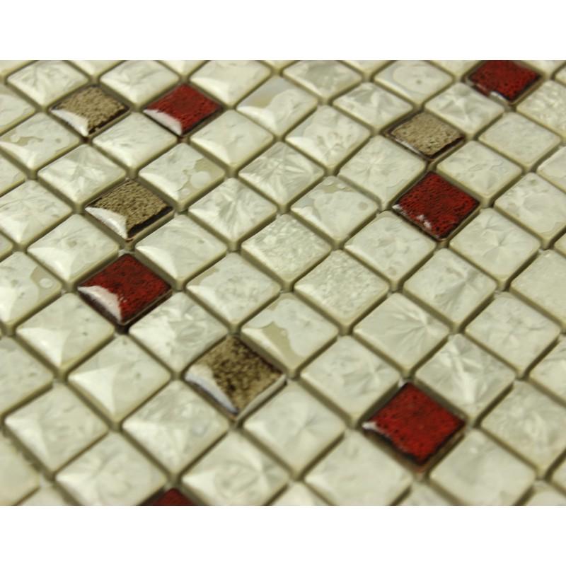 mosaic tiles glazed ceramic bathroom wall decor kitchen backsplash wall tile classic wood mosaic tile kitchen backsplash mosaic tile