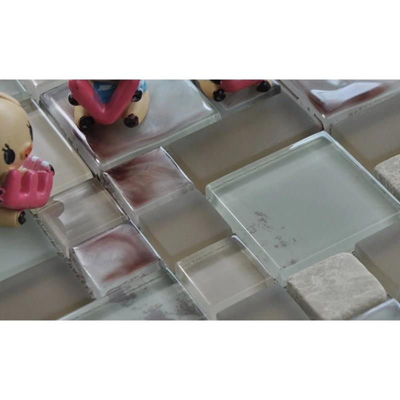 glass mosaic sheets crystal glass stone mosaics kitchen backsplash mosaic backsplashes pictures ideas tips hgtv hgtv