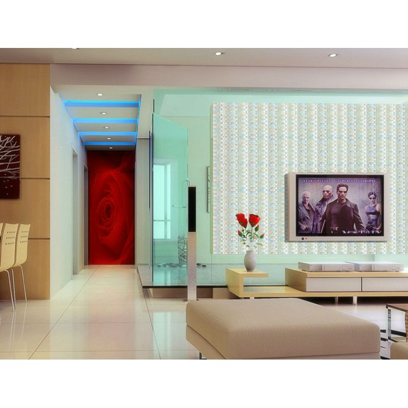 iridescent glass mosaic tile sheets arch kitchen mosaic backsplash mosaic backsplashes pictures ideas tips hgtv hgtv