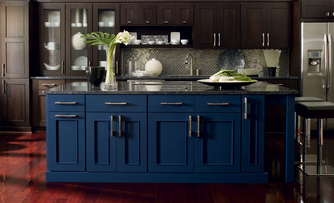 Two Tone Kitchen Cabinets With Black Granite How To Two Tone Kitchen Design Blog