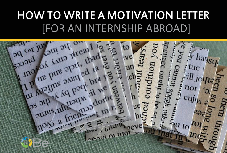 How to write a cover letter for an internship abroad - Brazilian