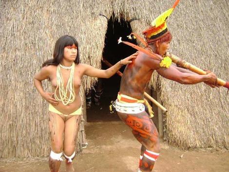 hot native american tribe girl