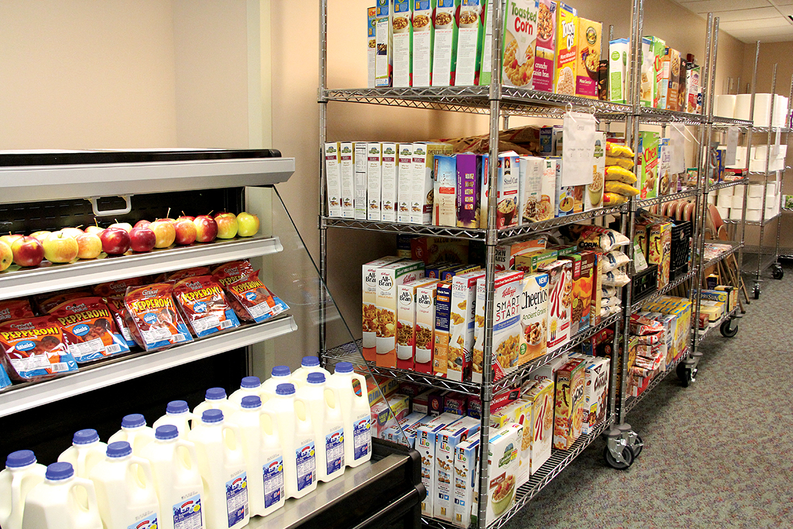 A Food Pantry In A Hospital Bread For The World