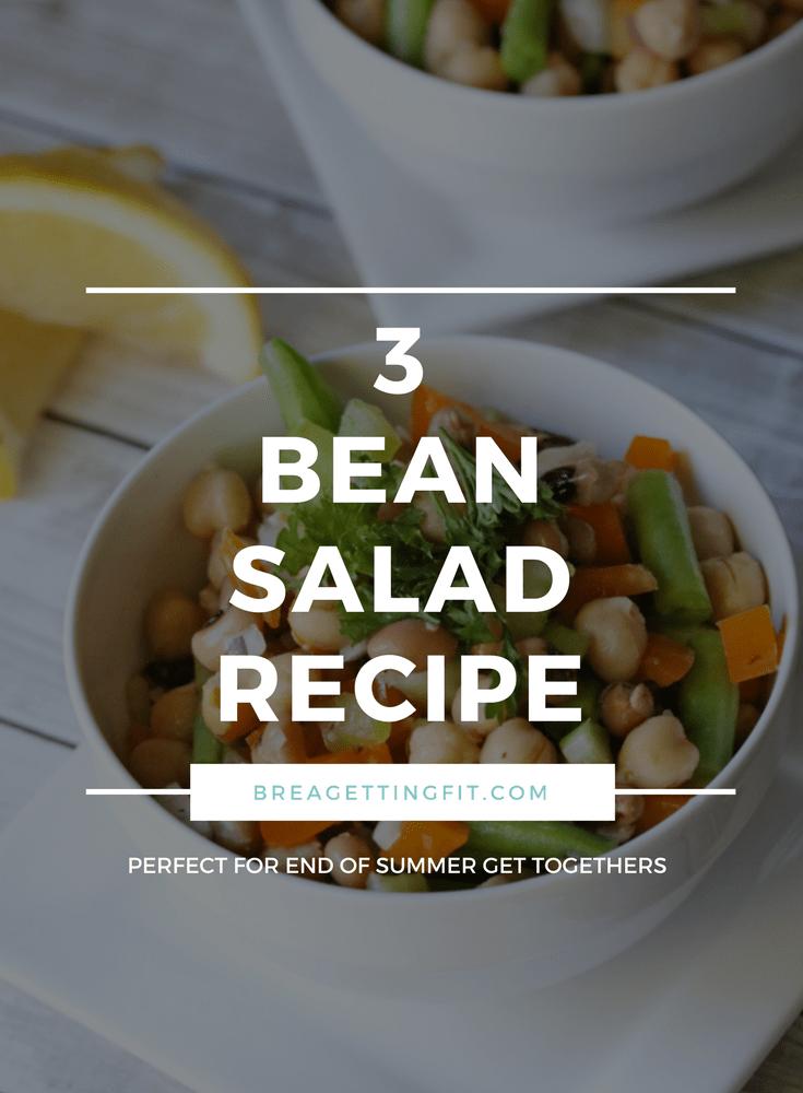 3 bean salad recipe