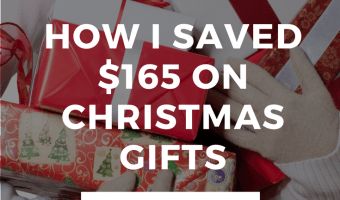 How I Got $180 Worth of Christmas Gifts for $15 {& Who I Gave Them To}