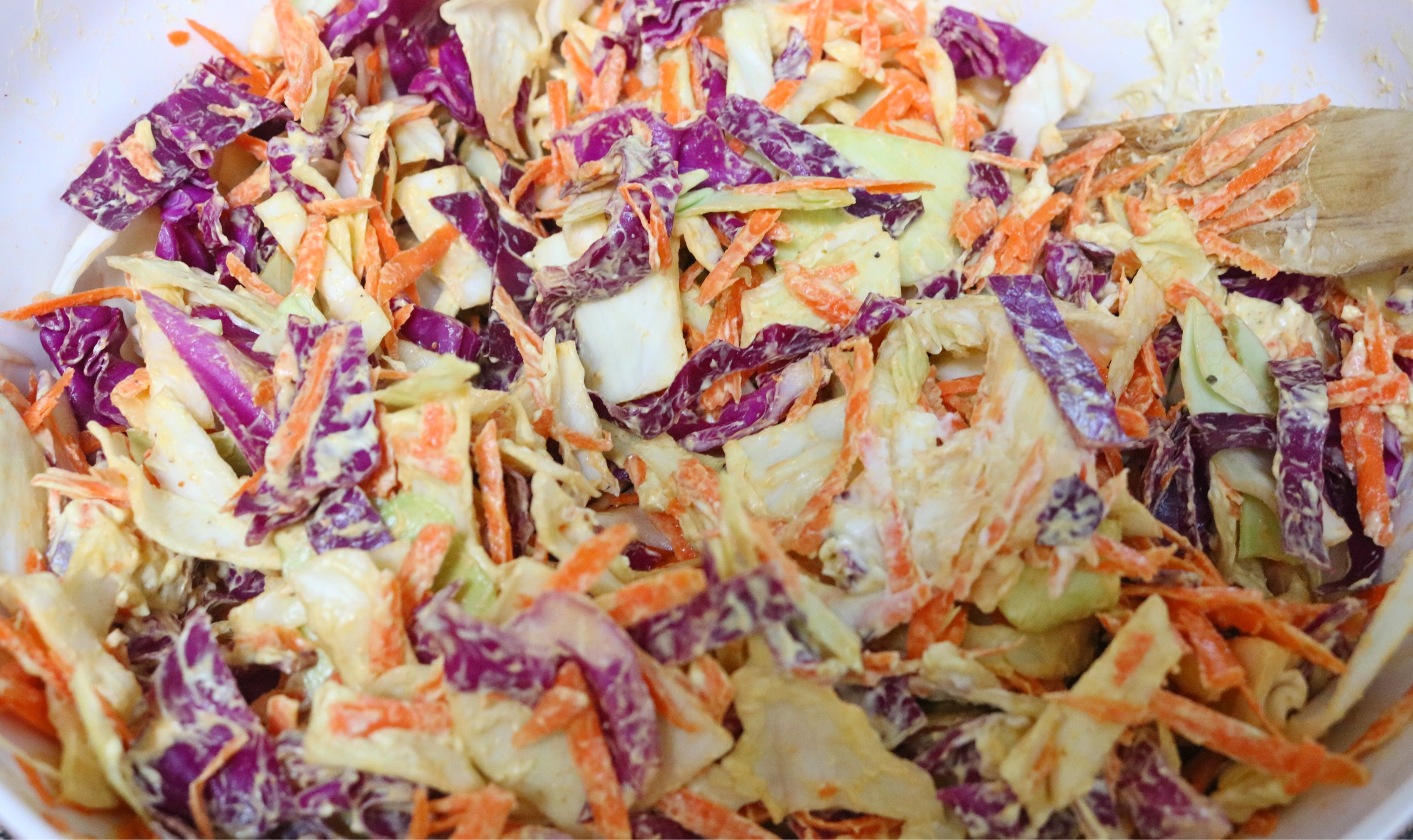 Curried Cranberry Coleslaw