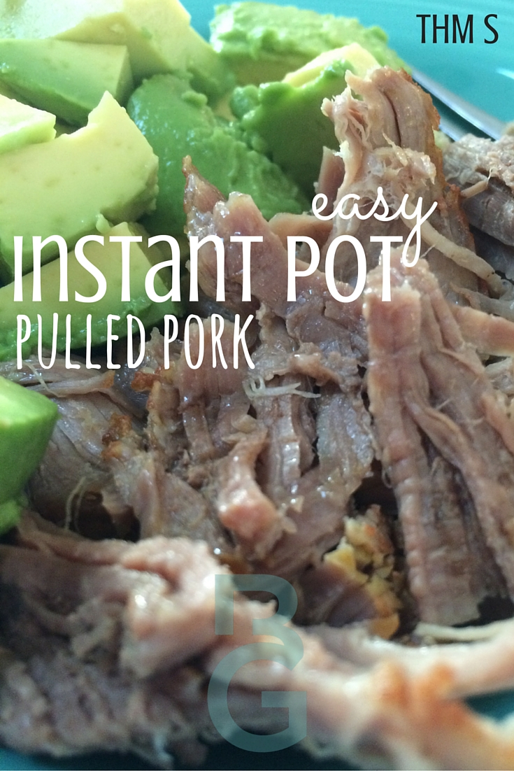 Instant Pot Pulled Pork Recipe {+ A YouTube Video}