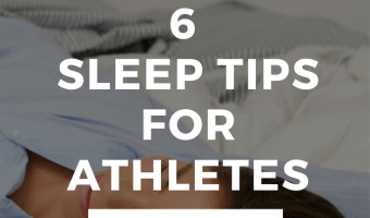 6 Sleep Tips for Athletes